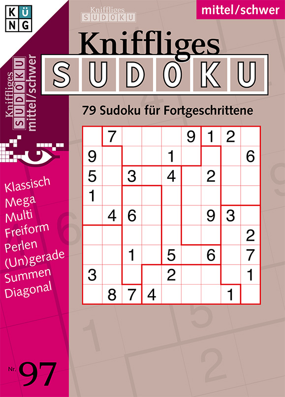 Kniffliges Sudoku