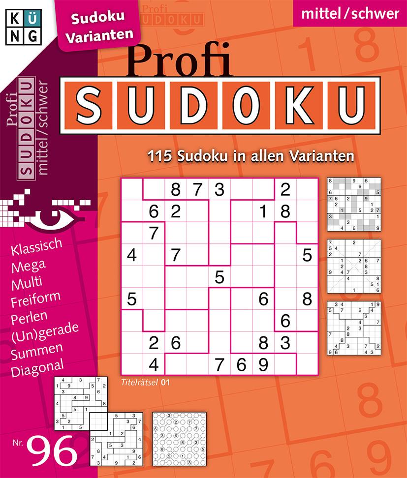 Profi Sudoku 96-2020